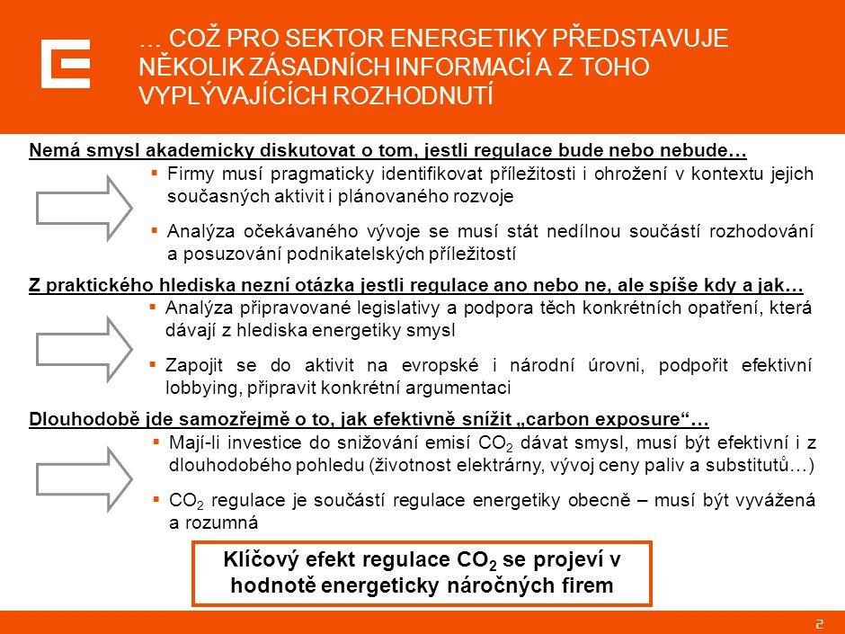 POHLED SKUPINY ČEZ NA AKTUÁLNÍ DĚNÍ V ENERGETICE 22.