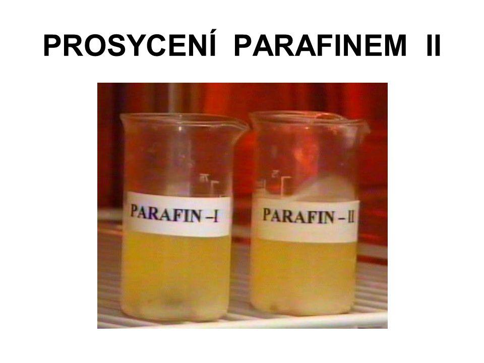 PROSYCENÍ PARAFINEM II