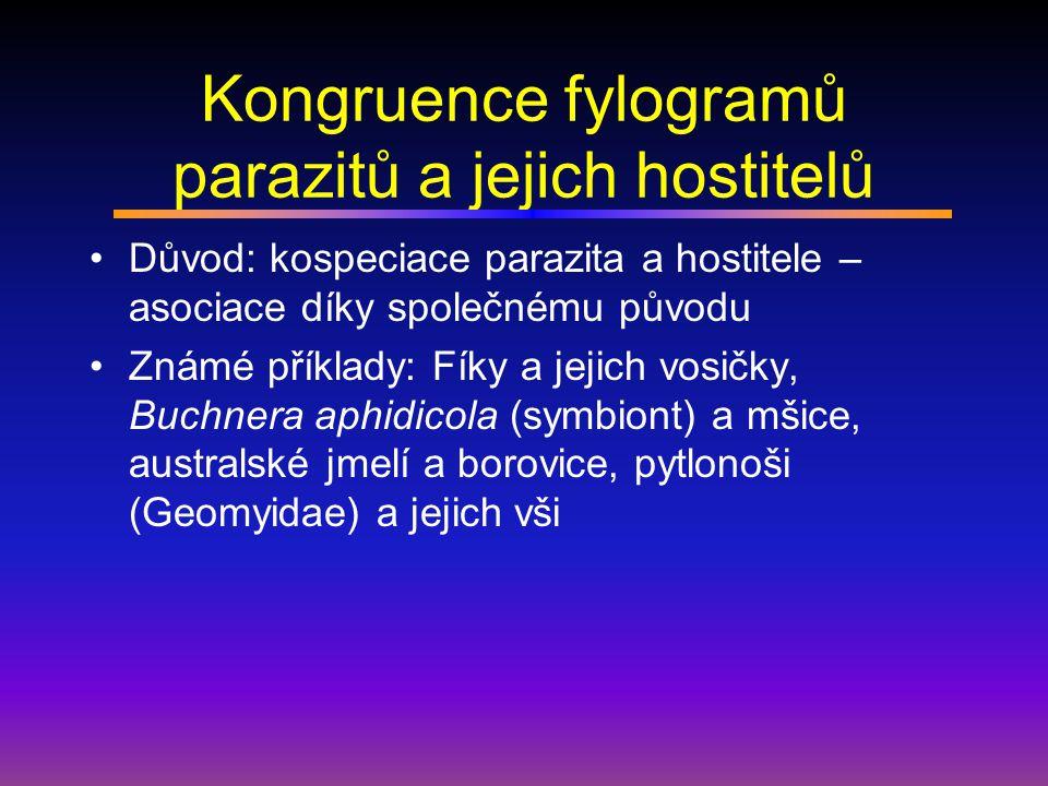 Biogeografické zákonitosti Hostitelský druh nese nejvíce parazitů v oblasti kde žije nedéle.