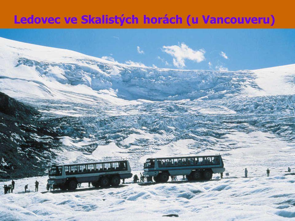 Ledovec ve Skalistých horách (u Vancouveru)