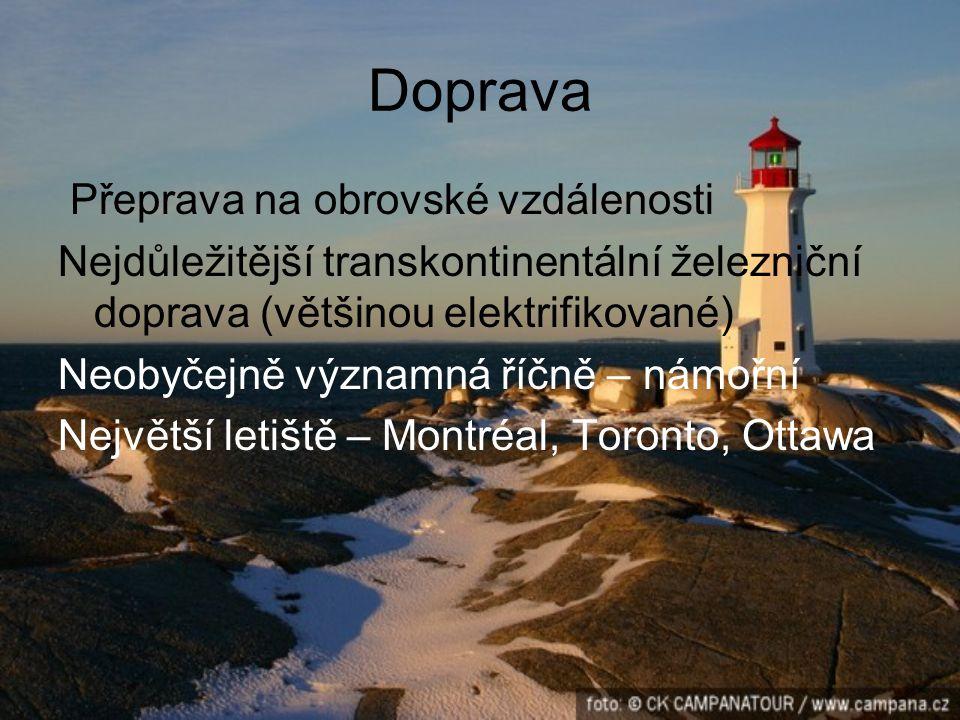 Když se řekne Kanada, vybaví se Země nádherná, člověkem nedotčená příroda Země drsné přírody, severské fauny, Niagary, velkých ledovcových jezer Země javorového listu (na červenobílé vlajce států) a barevných indiánských totemů.