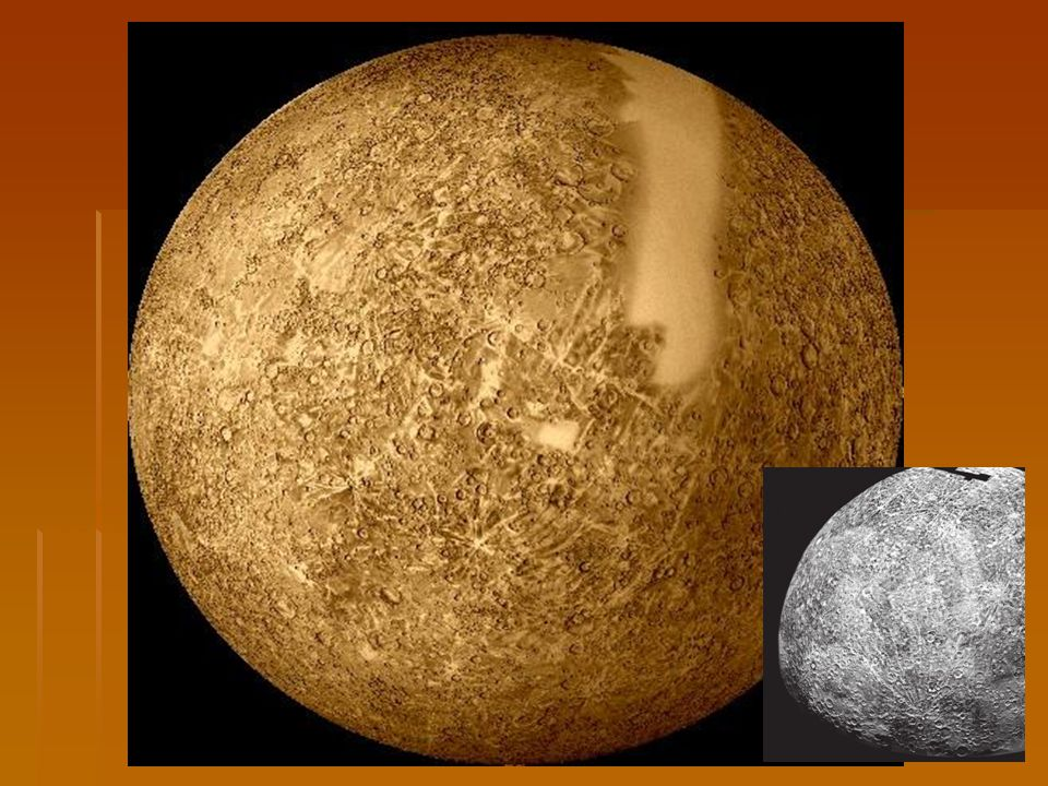 Venuše   Sluneční světlo k ní doletí za 6 min.  Je přibližně velká jako Země.
