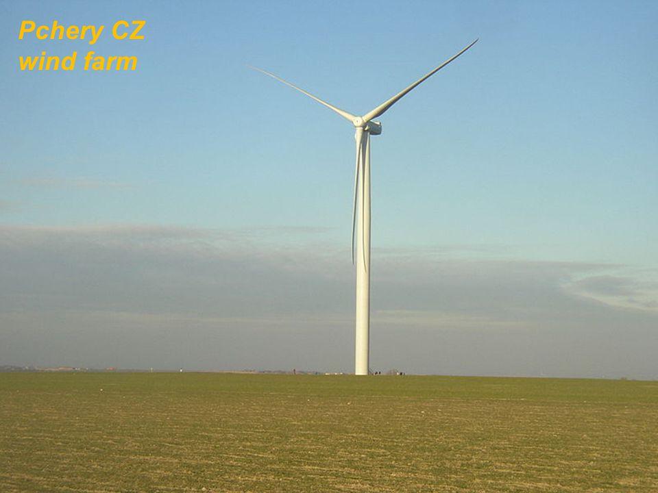 Pchery CZ wind farm