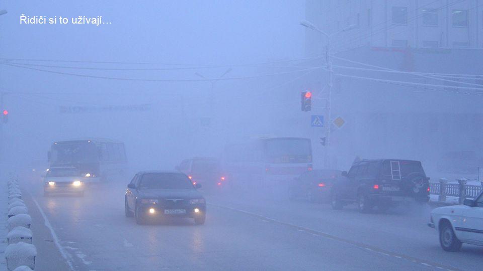 Krutý mráz a k tomu mlha…