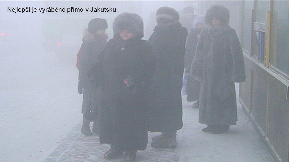 Za takových teplot je nutné speciální oblečení…
