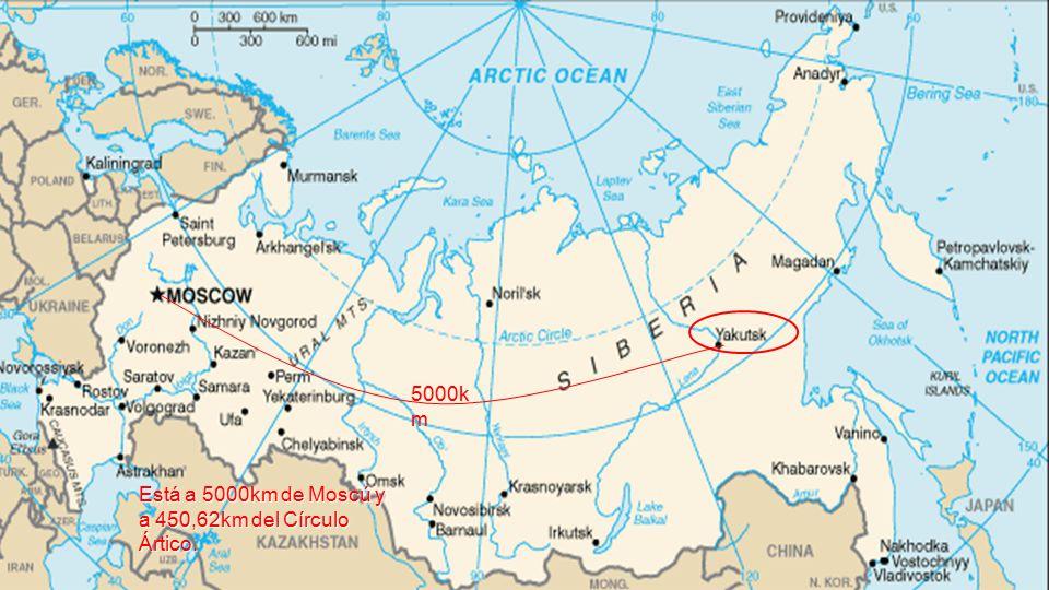 Jakutsk « Puede, (in)cómodamente, reclamar el título de Ciudad Más Fría del Mundo» Ruské město na východní Sibiři má kolem 300 000 obyvatel, kteří v zimě musejí žít v mrazu až - 60 o C.