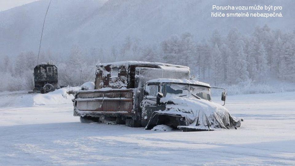 Kamiony představují nejdůležitější dopravní prostředek.