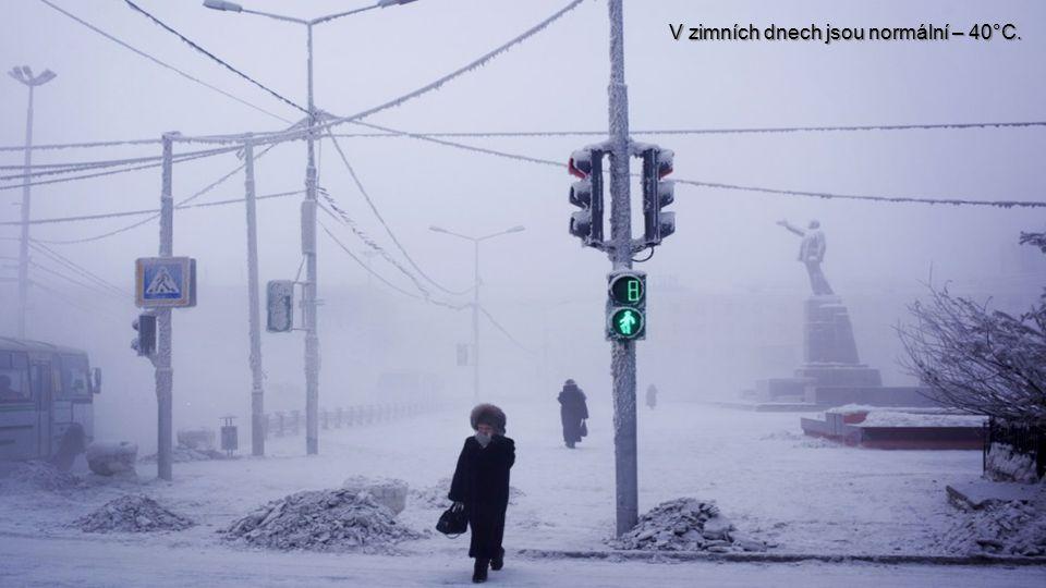 V únoru teploty překonávají i - 64°C.