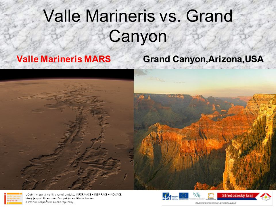 Valle Marineris vs.