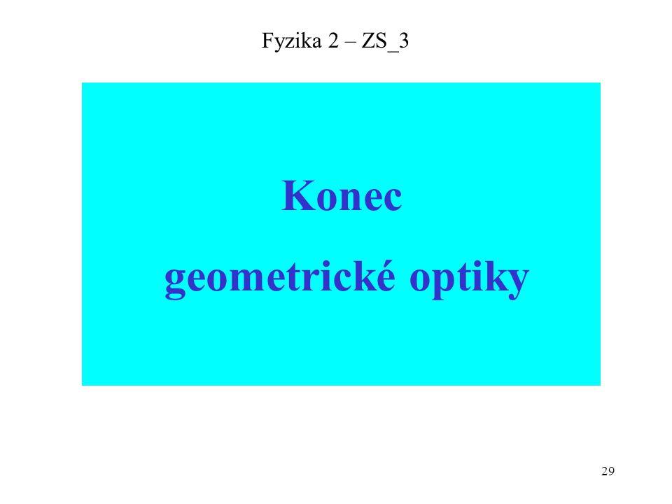 29 Fyzika 2 – ZS_3 Konec geometrické optiky