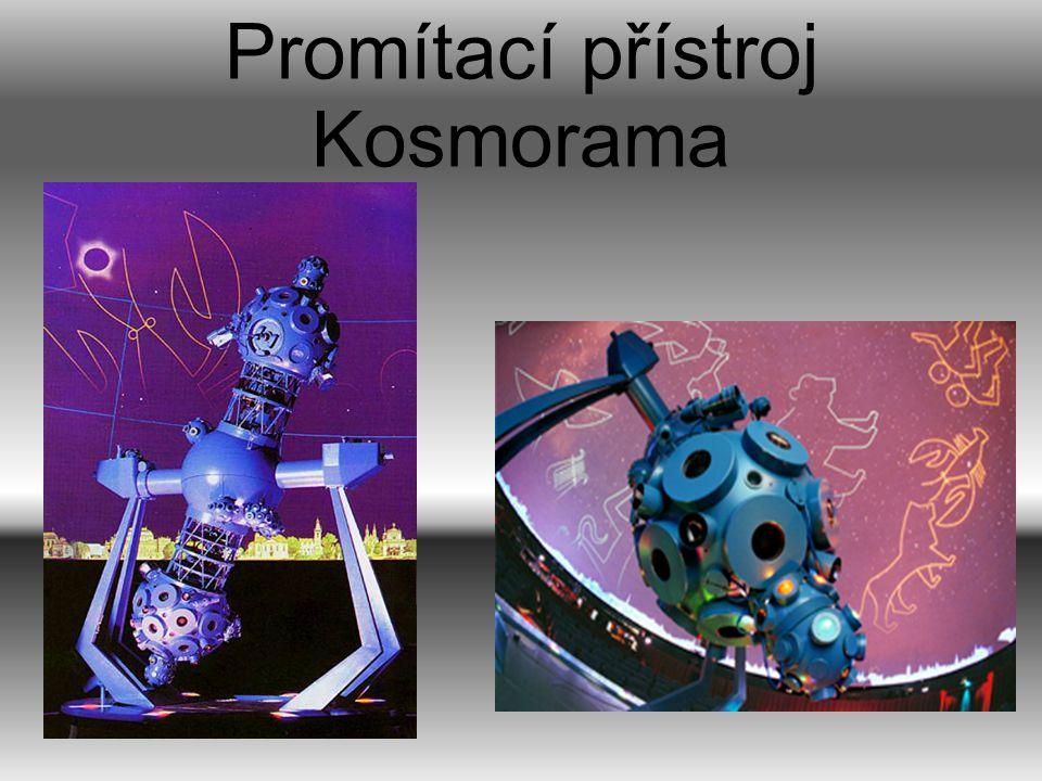 Promítací přístroj Kosmorama