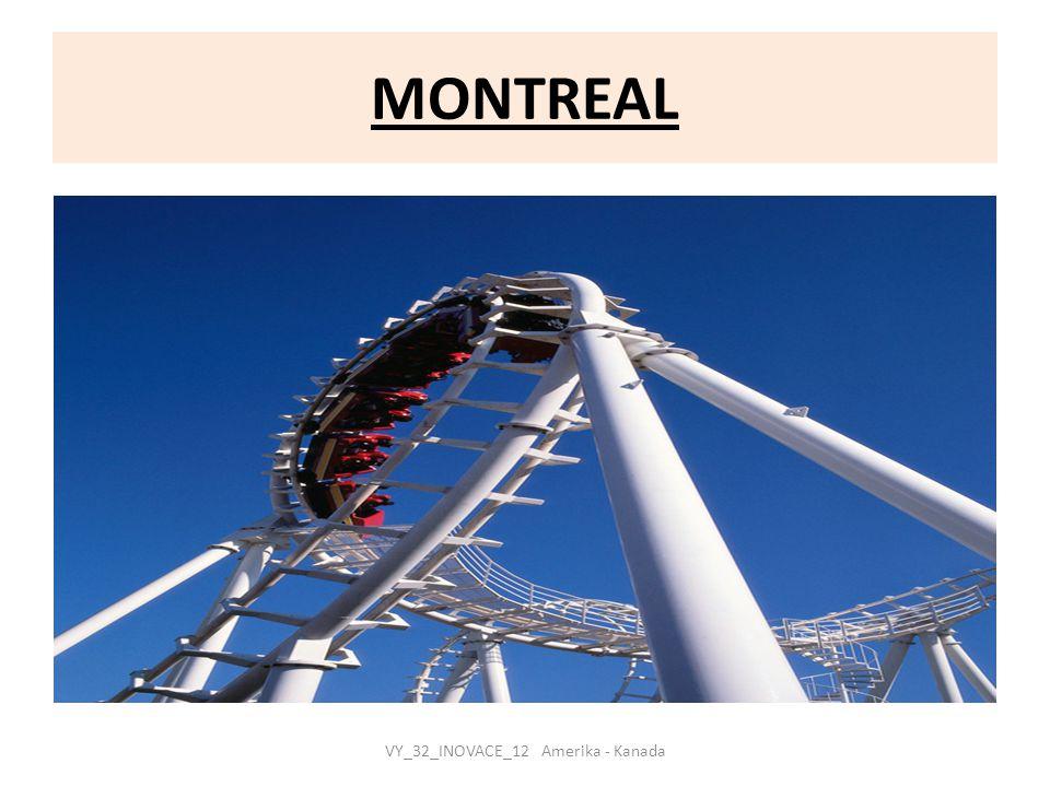MONTREAL VY_32_INOVACE_12 Amerika - Kanada