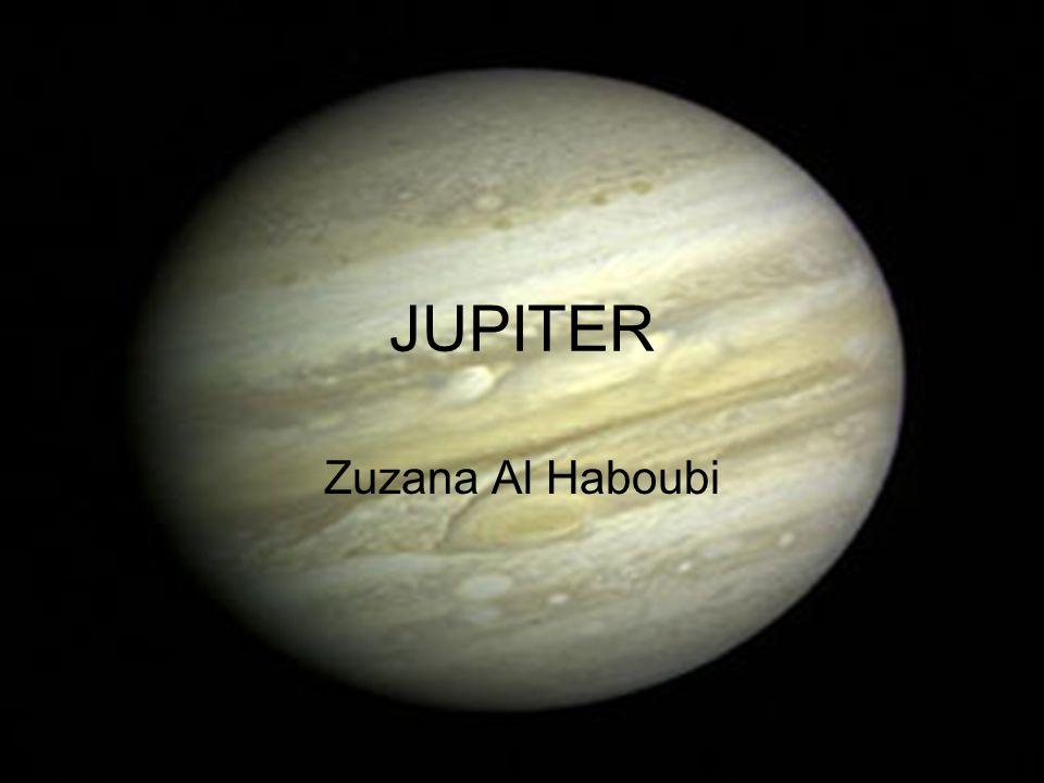 ÚVOD Jupiter je pátou planetou od slunce a i největší planetou sluneční soustavy.Je v průměru téměř 12krát větší než naše planeta.Oběh Jupiteru okolo slunce trvá necelých dvanáct roků…
