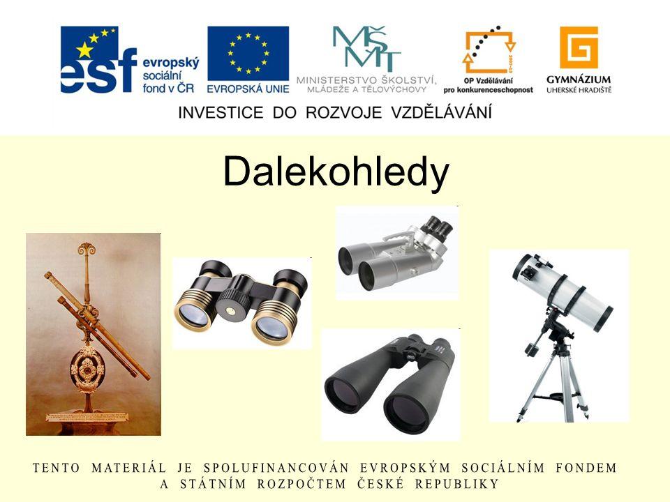 Dalekohled dalekohled je optický přístroj, s jehož pomocí je možné zvětšit zorný úhel pozorovaného objektu.