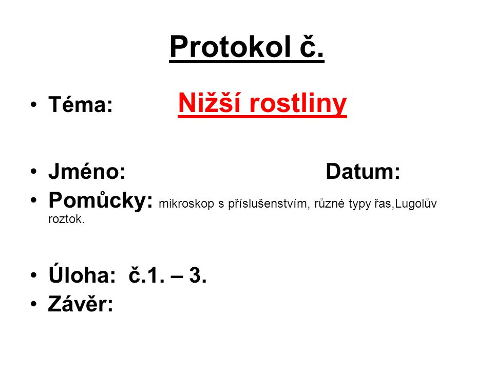 Protokol č.