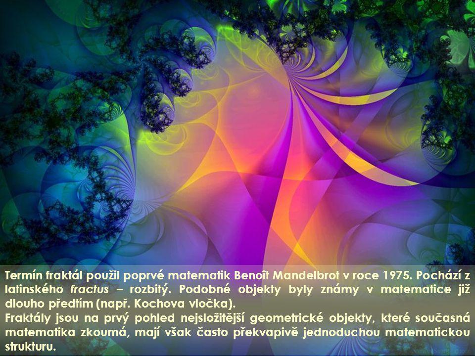 Klasická Euklidovská geometrie je p ř í li š jednoduchá pro popis p ř írodních tvarů