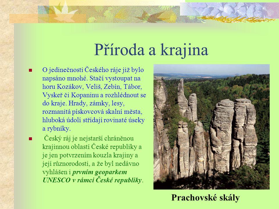 Příroda a krajina O jedinečnosti Českého ráje již bylo napsáno mnohé.