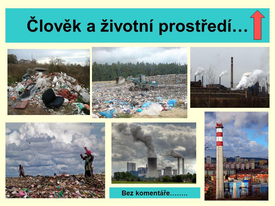 Člověk a životní prostředí… Bez komentáře……..