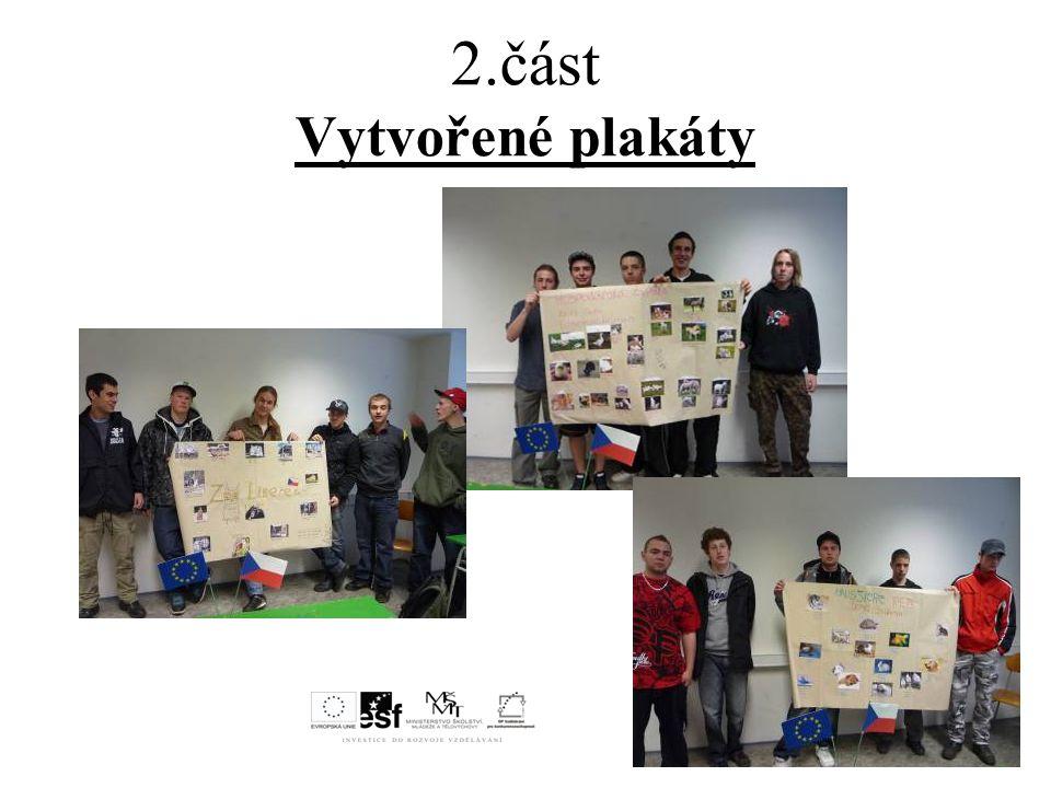 2.část Vytvořené plakáty