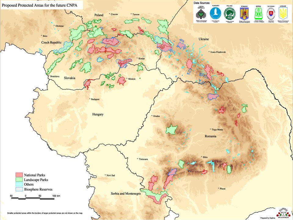 PROJEKTY PRO ÚMLUVU KEO – Karpatský environmentální výhled (Carpathian Environmental Outlook) - čl.