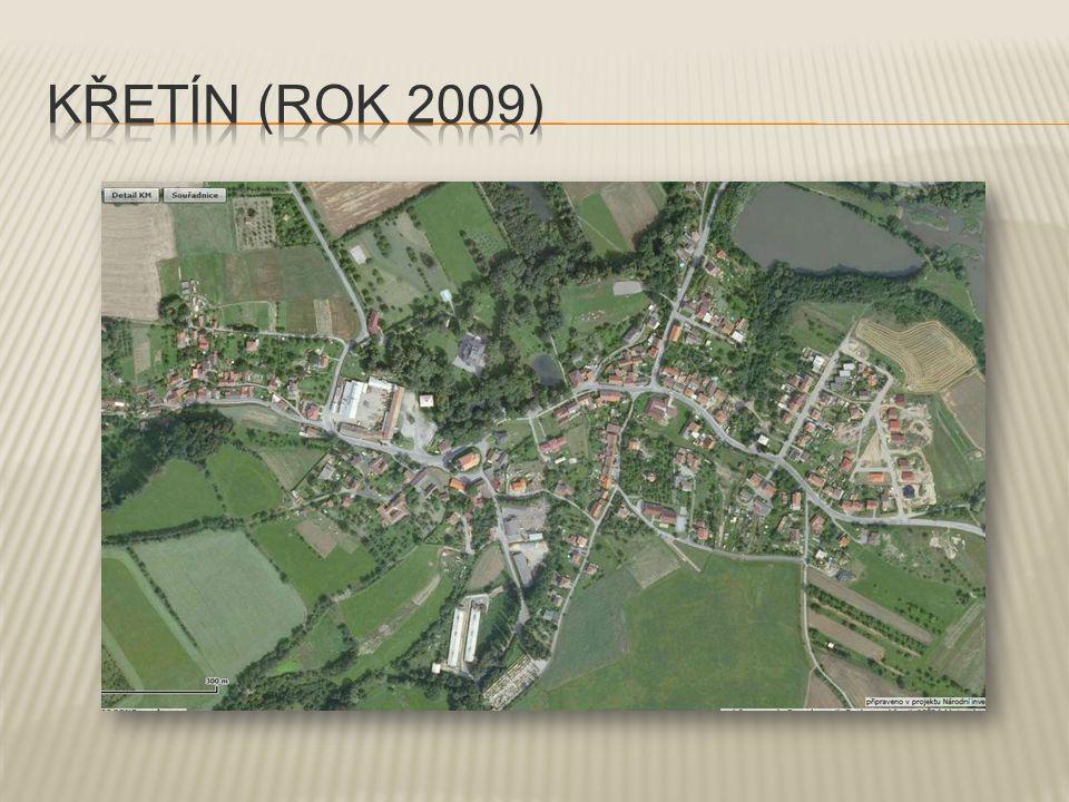  Křetín spolu s Dolním Poříčím tvoří největší obec Křetínska.