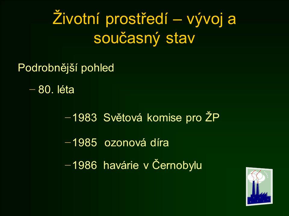 Znečištění v ČR - Půda Veškerá půda u nás se dělí na 1.