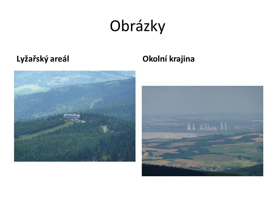 Obrázky Lyžařský areálOkolní krajina