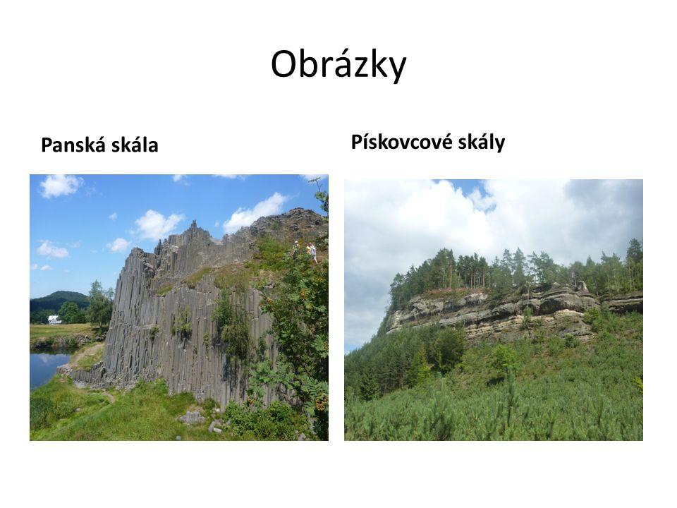 Obrázky Panská skála Pískovcové skály