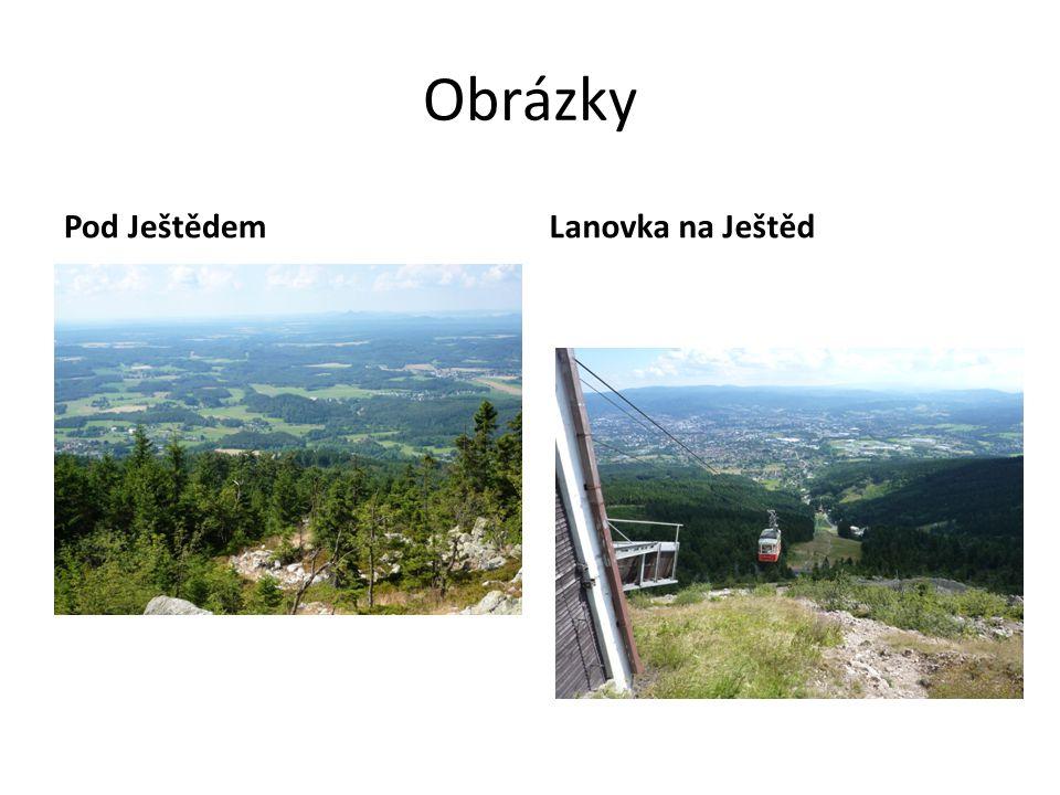 Obrázky Pod JeštědemLanovka na Ještěd