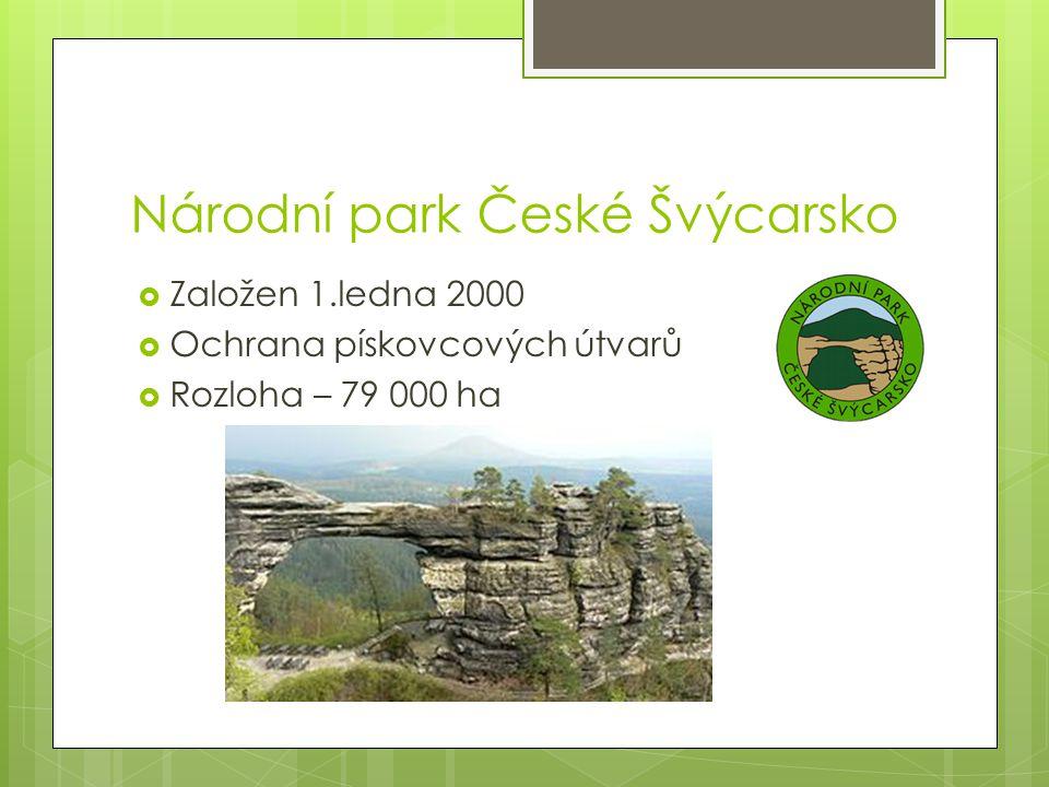 Národní park Krkonoše  Založen 17.