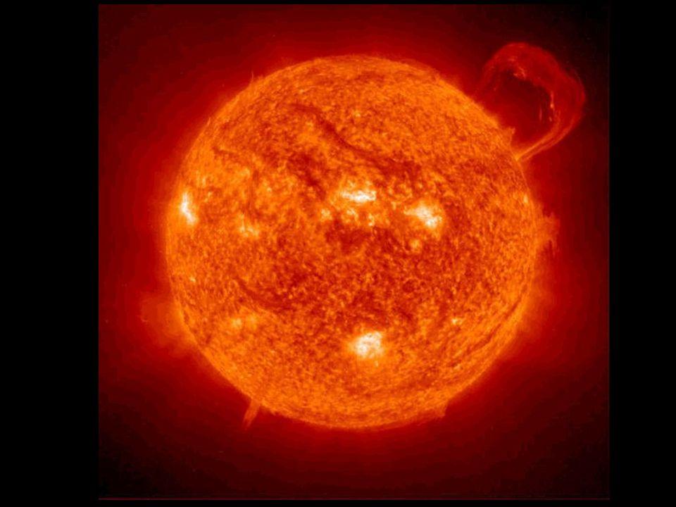 Slunce Naše slunce je však mnohem mladší Kolem slunce obíhají všechna ostatní tělesa Sluneční soustavy Má průměr 1 390 000 km Jeho stáří se odhaduje p