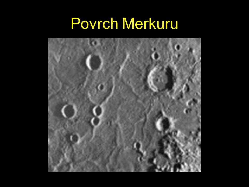 Merkur Merkur je planeta, která je nejblíže Slunci, jeho vzdálenost od Slunce činí 57 909 175 km Má tekuté jádro soustavy S průměrem 4880 km je to dru