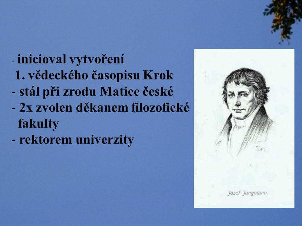 - jazykovědec - tvůrce slovníků - literární historik - překladatel - žurnalista - básník