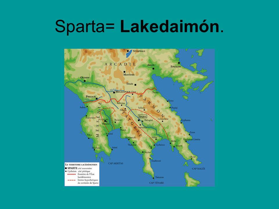 Populace Sparťané žili z výnosů svých pozemků, jež pro ně obdělávali heilóti.