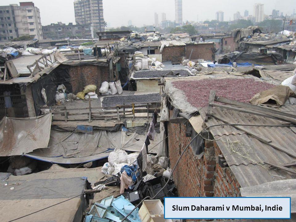 Slum Daharami v Mumbai, Indie
