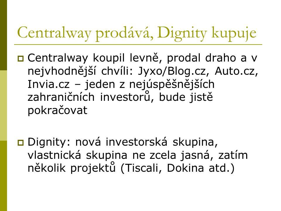 Miton: fabrika na internetové projekty  Po prodeji Stahuj.cz získala firma finanční impuls  Dnes firma startuje či kupuje nový projekt co pár měsíců  Zdaleka ne všechny jsou výdělečné, ale jejich řízení a rozvoj jsou profesionální  Firma nemá jednoznačnou oborovou strategii, využívá příležitostí