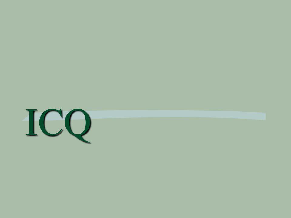 Co je ICQ.ICQ je nejpoužívanější a nejpopulárnější komunikační program.