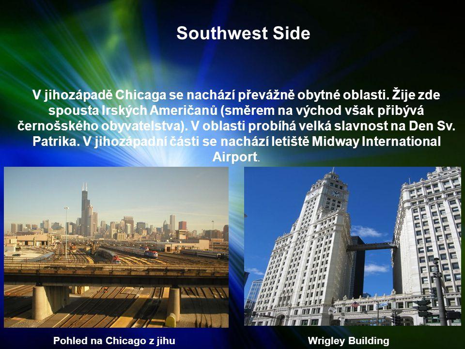 Southwest Side V jihozápadě Chicaga se nachází převážně obytné oblasti.