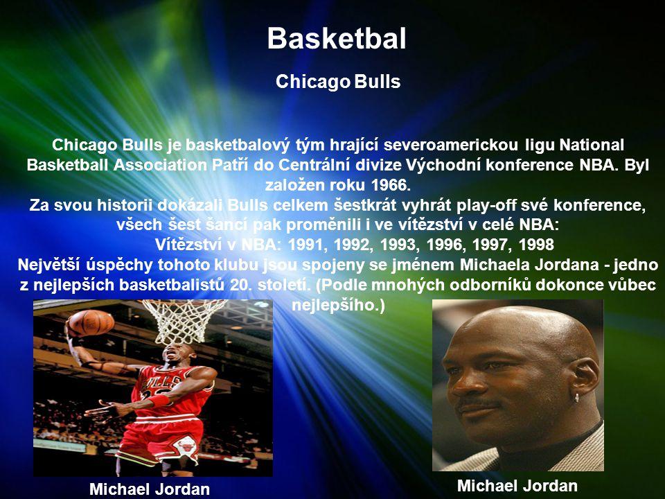 Basketbal Chicago Bulls Chicago Bulls je basketbalový tým hrající severoamerickou ligu National Basketball Association Patří do Centrální divize Východní konference NBA.