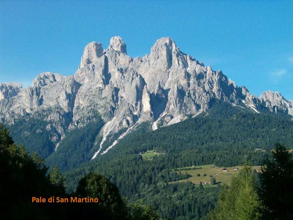 Monte Schiara Sass de Mur Pale di San Martino Monte Civetta Monte Cimerlo Cimon della Pala