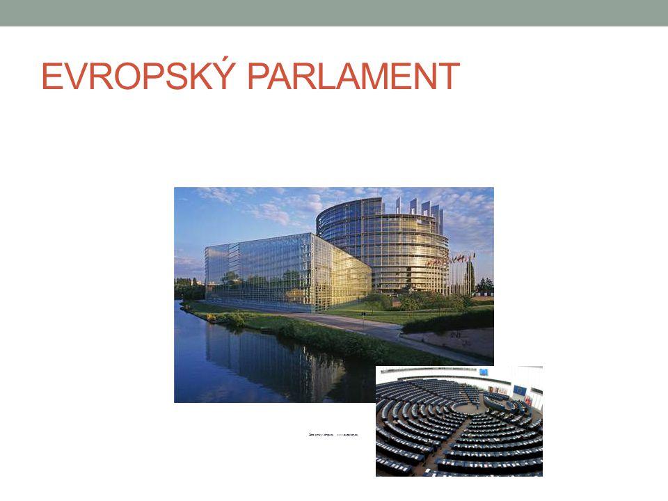 EVROPSKÝ PARLAMENT Zdroj:zprávy.idnes.cz, www.euroskop.cz