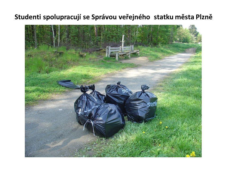 Studenti spolupracují se Správou veřejného statku města Plzně