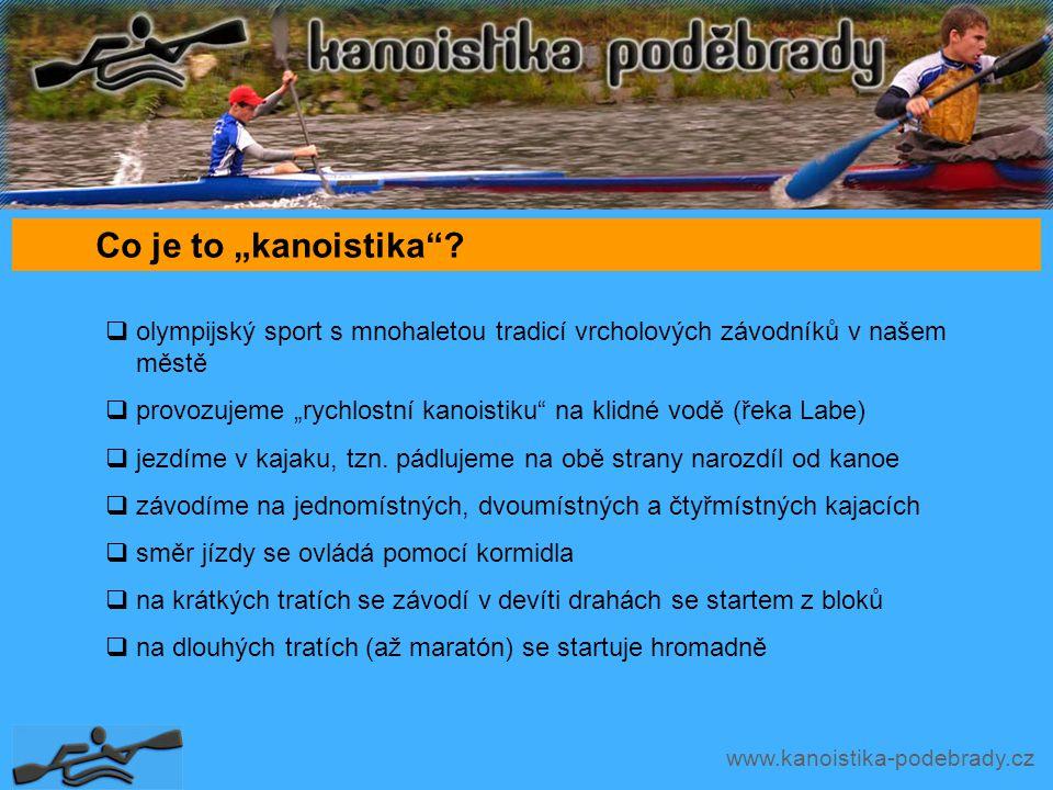"""www.kanoistika-podebrady.cz Co je to """"kanoistika ."""