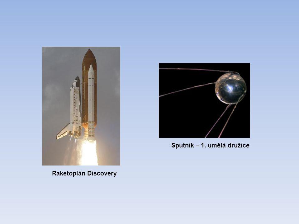 Raketoplán Discovery Sputnik – 1. umělá družice