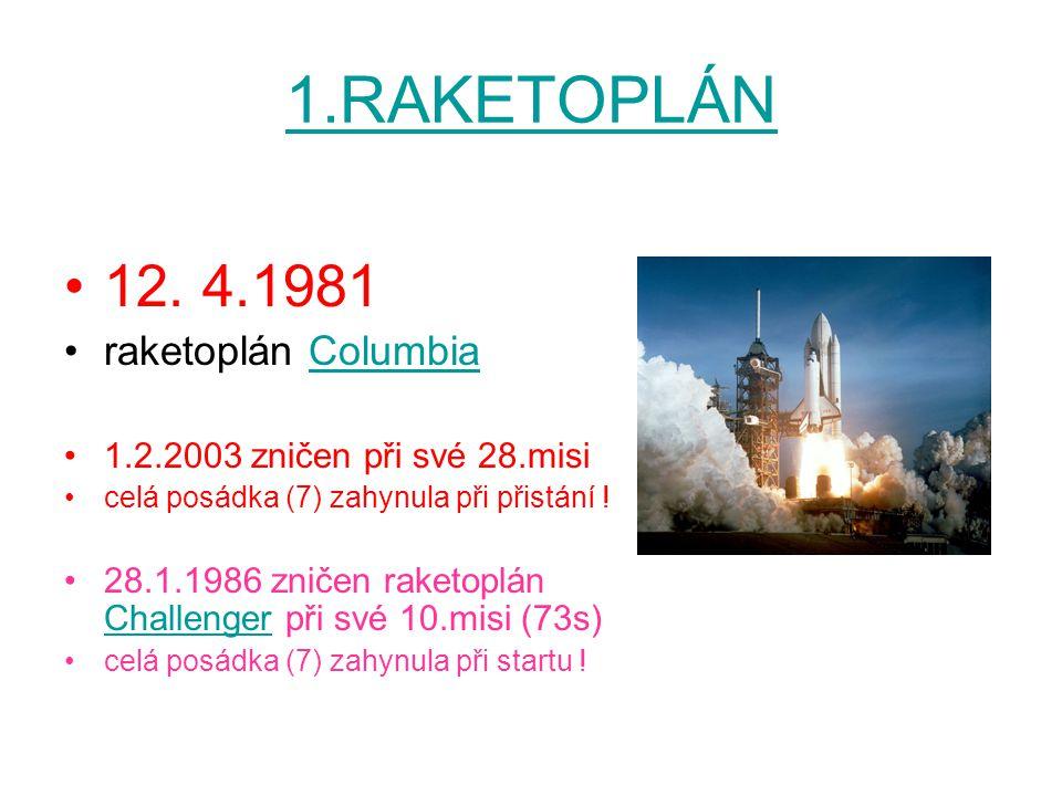 1.RAKETOPLÁN 12.