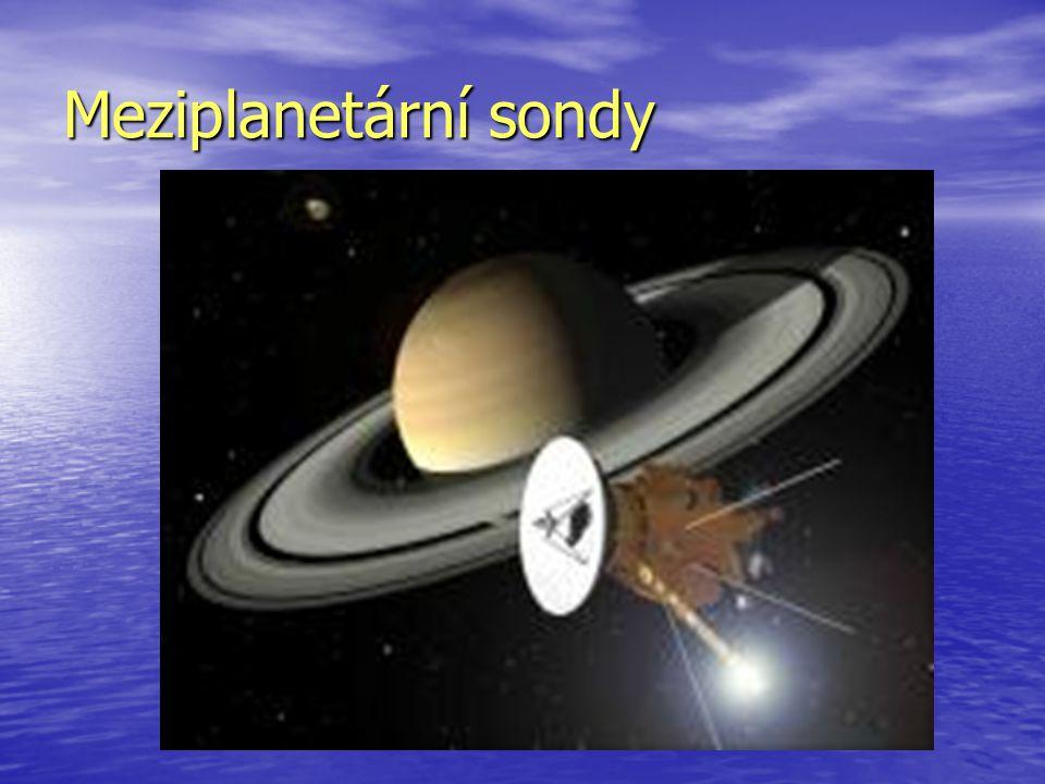 Kosmické sondy jsou bezpilotní kosmická zařízení, vysílaná k průzkumu sluneční soustavy nebo hlubšího vesmíru.