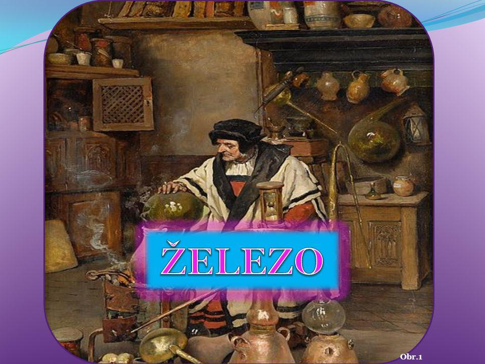 1200 př.nl. 55,845 26 Fe ŽELEZO Ferrum 1,83 Tento prvek je známý již od starověku.