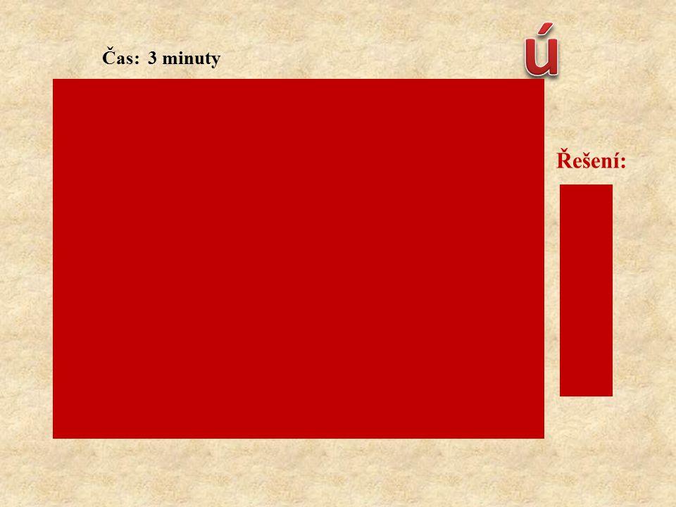 Čas: 3 minuty Vyberte správné možnosti první pomoci při podchlazení: Řešení: a) c) d) f) h) j) k) a) přenést postiženého do teplého prostředí b) posti