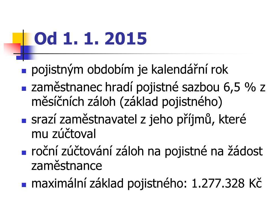 Výše záloh (§ 14) MVZ: určí si sama, max.1/12 max.