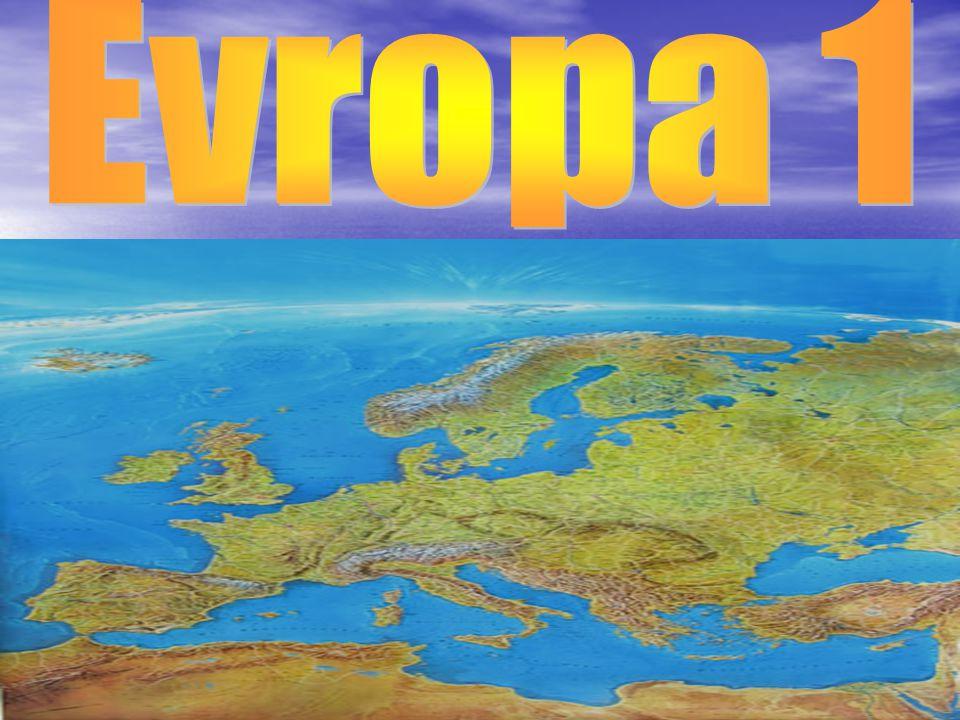 Rozloha 10 532 000 km2, druhý nejmenší kontinent po Austrálii Rozloha 10 532 000 km2, druhý nejmenší kontinent po Austrálii Hustě osídlený(v roce 2005,měla 730 000 000 obv.) Hustě osídlený(v roce 2005,měla 730 000 000 obv.) Mluví se zde 209 různými jazyky Mluví se zde 209 různými jazyky Evropa měla vliv na historický a kulturní vývoj světa Evropa měla vliv na historický a kulturní vývoj světa Evropu ohraničuje Severní ledový oceán, na východě pohoří Ural, řeka Ural (někdy i Emba), na jihovýchodě Kaspické moře, Černé moře, na jihu Středozemní moře a na západě Atlantský oceán.